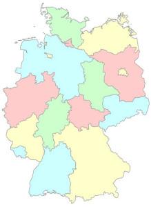 Bundesländer der Bundesrepublik Deutschland